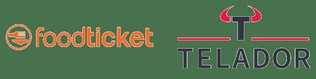 Foodticket en Telador Logo