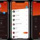 Qaller app op iPhone